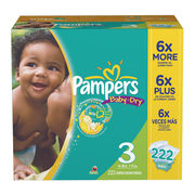 Walmart.ca Now Carries Diapers/Wipes: Pampers Econo Size $36.97 w/Free Shipping